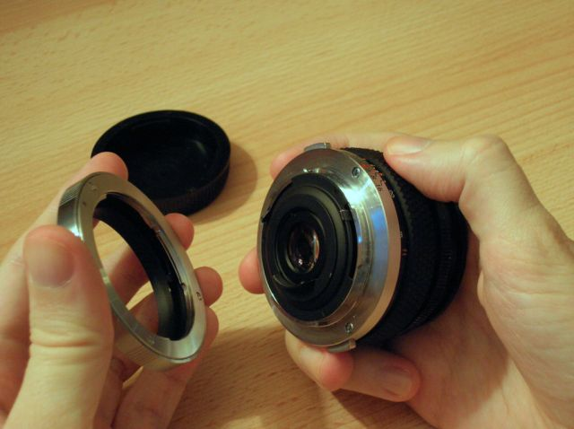 Using A 4 3 To Om Adapter On Olympus E System Cameras